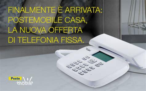 poste mobili telefonia poste mobile apre alla telefonia fissa