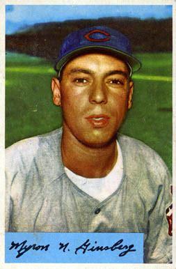 joe ginsberg 1954 bowman joe ginsberg 52 baseball card value price guide