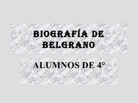 imagenes de la vida de manuel belgrano biografia de manuel belgrano