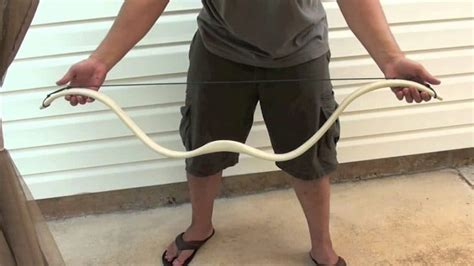 Recurve Pvc Bow pvc bow and arrow learn how to make one