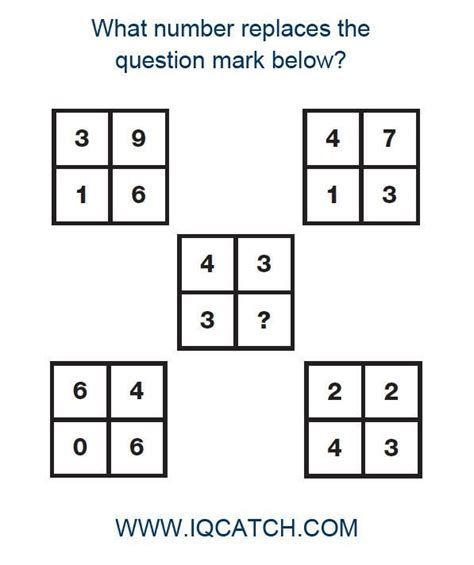 printable iq test for grade 1 35 best images about iq test questions on pinterest your