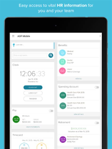 adp mobile adp mobile solutions for android
