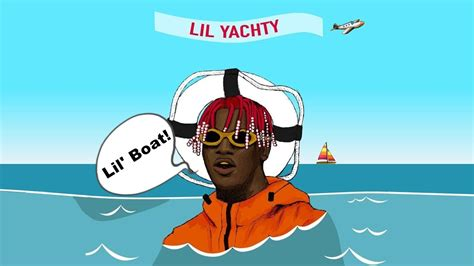 lil boat lil yachty saying lil boat for 1 hour youtube