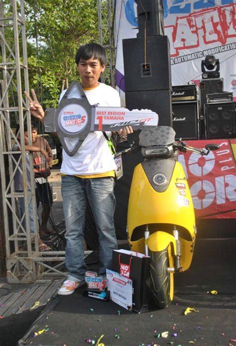 Mixer Yamaha Di Medan mio jawara cuzztomatic 5 matik hi tech bismillah alhamdulillah gilamotor