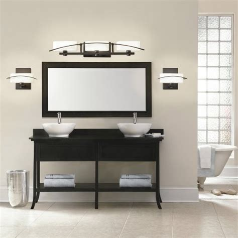 contemporary bathroom lights kichler lighting kichler montara 45079ap vanity 37 75 in