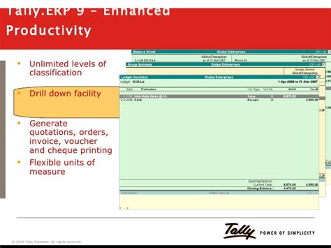 Payment Reminder Letter In Tally Erp 9 tally erp 9 a preview