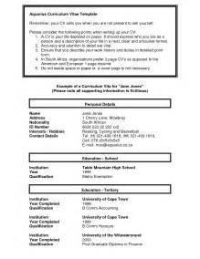 curriculum vitae resume and biodata 3