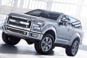 Ford Bronco Svt 2016 Ford Svt Bronco Coming Soon Diesel Power Magazine
