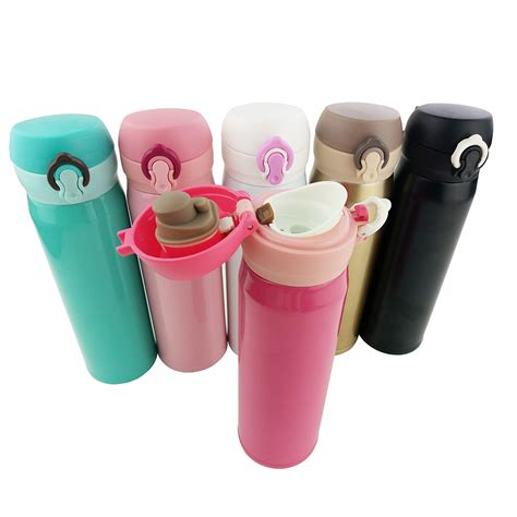 Botol Termos Vacuum Cangkir Cup Stainless 500 Ml Tahan Lama P Termos Thermocup 500 Ml 304 Stainless Steel Thermos Coffee Mugs Cup Vacuum Flask