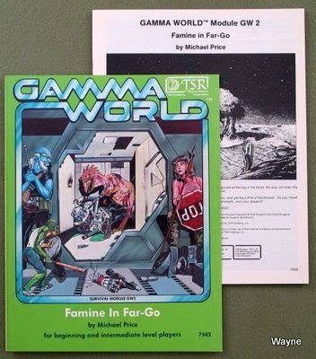 gamma world waynes books rpg reference 22 best old school tsr rpg s rock gamma world images on