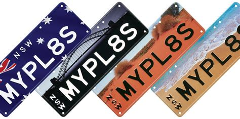 fist plate hairstyle nsw launches quot australiana quot number plate styles