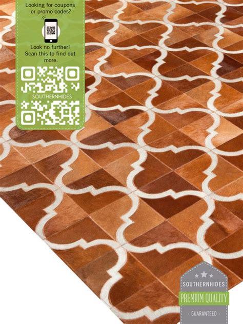 San Antonio Rugs by San Antonio Cowhide Rug Moroccan Tile Rug