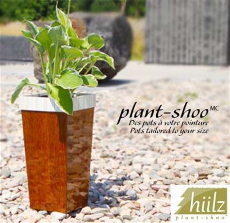 Planter Shoo by Plant Shoo Flower Pots Planters Vases Tailored To Your Size