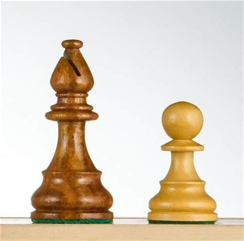 french series wood chess pieces golden rosewood