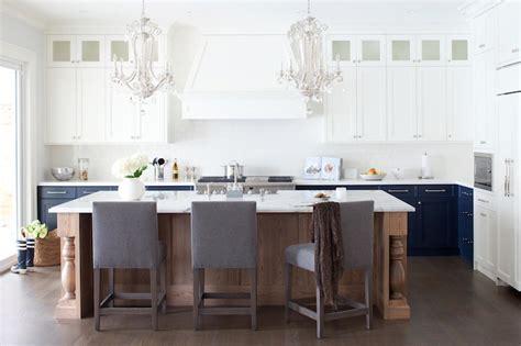 blue kitchen cabinets contemporary kitchen kelly deck design