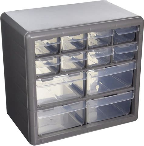 Plastic Drawer Organizer Bins by Storage Organizer Cabinet 12 Plastic Drawer Boxes Parts