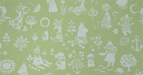 Home Room Design by Moomin Wallpapers Design From Finland Moomin Moomin