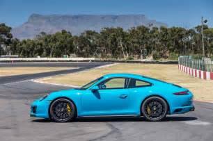 Porsche Gts 2017 Porsche 911 Gts Coupe Side Profile Motor Trend