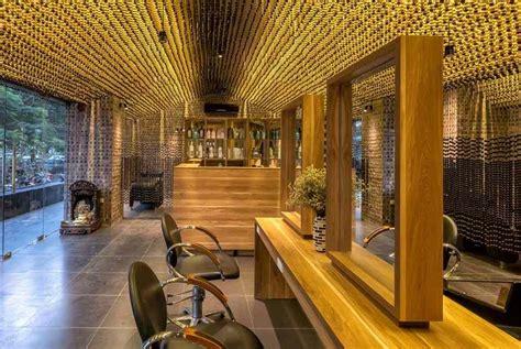 plafond original perles en bois pour plafond design original