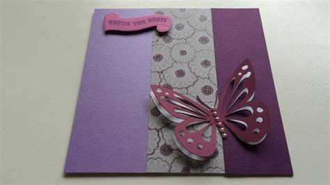 Make A Flying Butterfly Card Diy Crafts Guidecentral