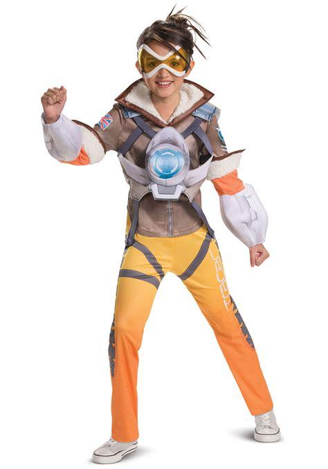 overwatch tracer deluxe costume  girls
