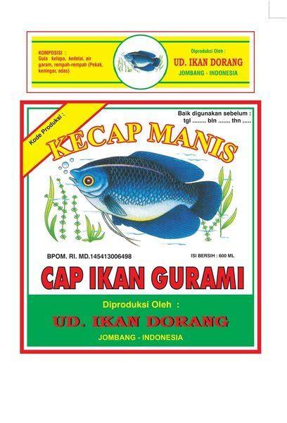 perusahaan kecap ikan dorang jombang indonesia
