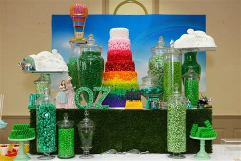 kara s party ideas wizard of oz rainbow wedding party