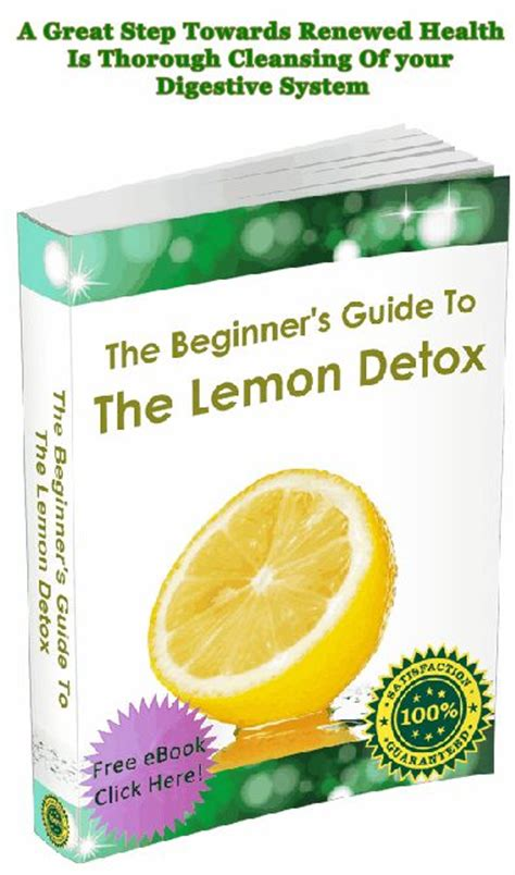 48 Hour Detox Test by Get 40 Discount The Lemon Detox Diet Program