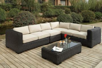 wicker sectional outdoor furniture patio republic exclusively offered at wholesale