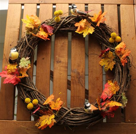 easy diy thanksgiving wreath best home decor project for