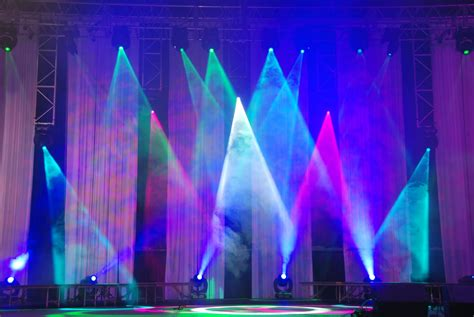 stage lighting design the lighting for the stage would consist of many bright