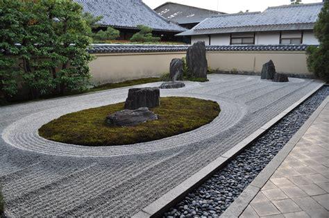 Japanese Zen Rock Garden Often Called A Zen Garden The Japanese Rock Garden 枯山水 Karesansui Is A Type Of Garden Which