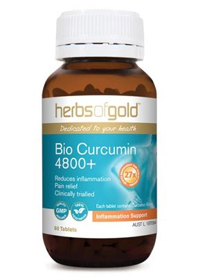 Herbsofgold Support bio curcumin 4800 by herbs of gold vitamins minerals