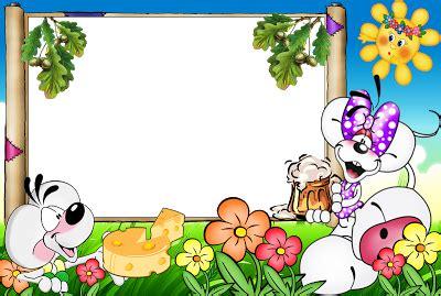 Imagenes Animadas Varias | 5 marcos infantiles a todo color marcos gratis para