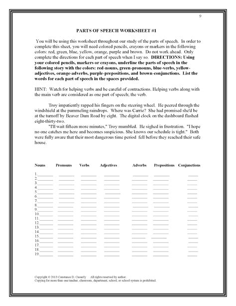High School Punctuation Worksheets by Related Keywords Suggestions For High School Grammar