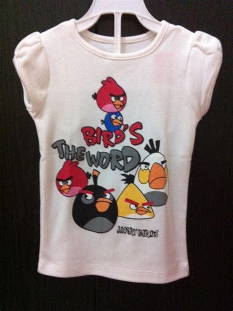 Setelan Kaos Crocs Bird kaos angry birds erkaem shop indonesia