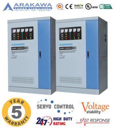 Stabilizer Arakawa Pdr 3 Phase Pdr 400kva jual stabilizer 150 kva automatic pdr automatic