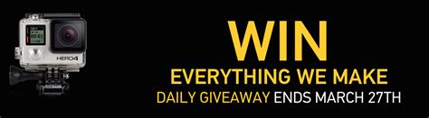 Gopro Everything We Make Giveaway - after more than two years gopro s quot win everything we make quot daily giveaway to end