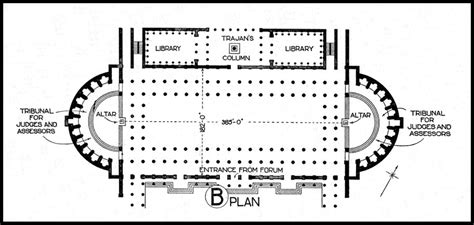 roman basilica floor plan art history 151 deck 2 at university of north carolina
