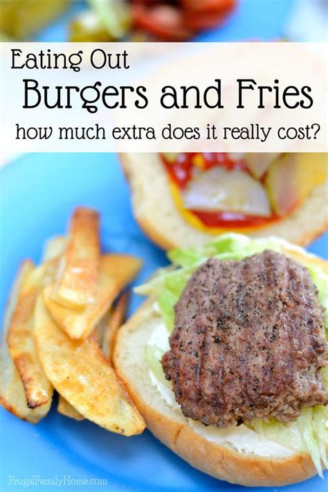 Eat A Burger Save A Price Tag the remarkable amount you can save by burgers at home