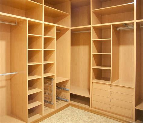 canapé en forme de u vestidores e interiores de armario