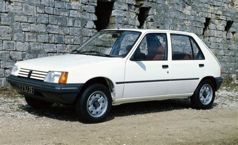 peugeot history peugeot 205 history photos on better parts ltd