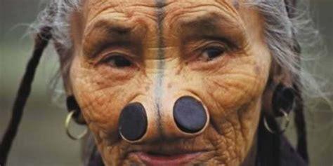 Wajah Afro ini kecantikan sebenarnya bagi suku suku terasing sejagat merdeka