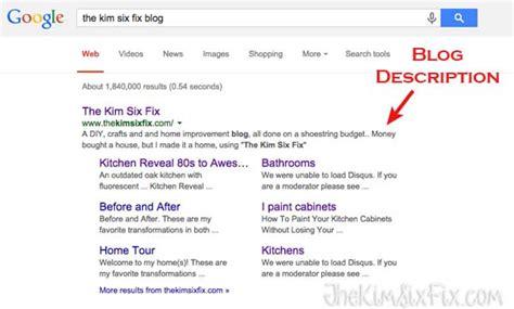 blogger description the top 5 seo tips for blogger