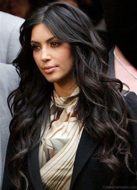 pretty hairstyles  kim kardashian