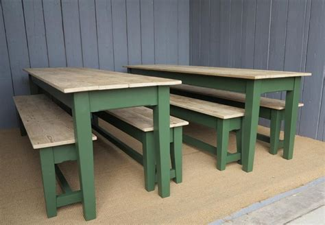 Farmhouse Kitchen Table With Bench by Farmhouse Kitchen Table S And Benches