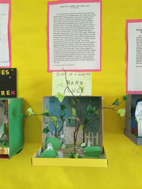 diorama book report great alternative to traditional book reports students