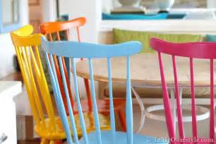 how to paint chairs best paint for wood furniture at the galleria