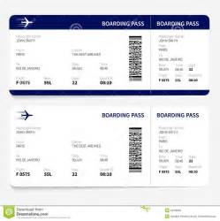 boarding pass template for word airline ticket template free sle customer service