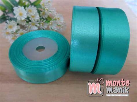 Pita Organdi 1 4 Inchi Warna Hijau Tua paket pita satin 2 quot atau 5 cm 24 warna pita 02